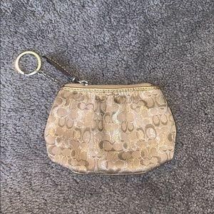 Small Coach coin purse